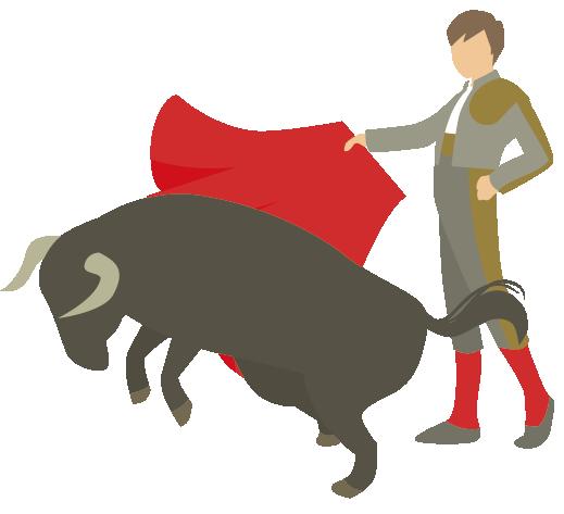闘牛は英語で何という・bullfight
